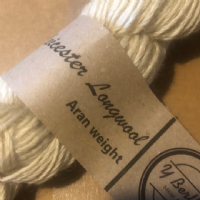 Leicester Long-wool Aran Yarn 100g